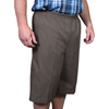 Silverts Men's Elastic Waist Cotton Adaptive Shorts SIL500400102