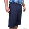 Silverts Men's Elastic Waist Cotton Adaptive Shorts SIL500400201