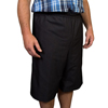 Silverts Mens Elastic Waist Cotton Adaptive Shorts SIL 500400304