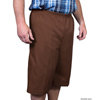 Silverts Mens Elastic Waist Cotton Adaptive Shorts SIL 500400402