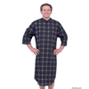 adaptive apparel: Silverts - Men's Adaptive Cotton Hospital Patient Nightgowns