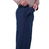 Silverts Arthritis Mens Fleece Easy Access Pants SIL 506300105