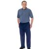 adaptive apparel: Silverts - Men's Alzheimer Anti-Strip Jumpsuit