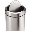 simplehuman: Simplehuman - 55L (14 Gallon) Swing Top Can Waste Receptacle