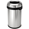simplehuman: Simplehuman - 80L (20 Gallon) Bullet Open Can Waste Receptacle