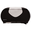 bathroom tissue, bathroom tissue dispensers: San Jamar® Twin Jumbo Bath Tissue Dispenser