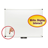 dry erase boards: Smead® Justick by Smead® White Board with Frame