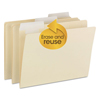 Smead Smead® FlexiFolder™ Heavyweight Folders with Movable Tabs SMD 10403