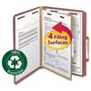 Smead Smead® 100% Recycled Pressboard Classification Folders SMD13724