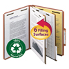 Clean and Green: Smead® 100% Recycled Pressboard Classification Folders