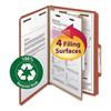 Smead Smead® 100% Recycled Pressboard Classification Folders SMD18723