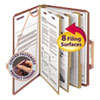 Smead Smead® Pressboard Classification Folders with SafeSHIELD™ Coated Fasteners SMD19092
