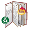 File Boxes: Smead® 100% Recycled Pressboard Classification Folders