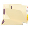 Smead Smead End Tab Fastener Folders with SafeSHIELD™ Coated Fastener Technology SMD 34117