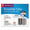 Smead Smead® Erasable Hanging Folder Tabs SMD 64627