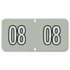 Smead Smead® BA300RY Color-Coded Year Labels SMD 66608