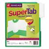 Smead Smead® SuperTab® Two-Pocket Folder SMD 87965