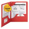 Smead Smead® Lockit™ Two-Pocket Folder SMD87980