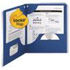 Smead Smead® Lockit™ Two-Pocket Folder SMD87982