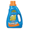 cleaning chemicals, brushes, hand wipers, sponges, squeegees: All® Ultra Oxi-Active Stainlifter Laundry Detergent