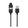 usb cables: Scosche® smartSTRIKE Charge  Sync Cable for Lightning™ Micro USB Devices