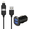 usb cables: Scosche® strikeDRIVE™ Dual Car Charger