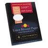 Southworth Southworth® 100% Cotton Premium Weight Linen Résumé Paper SOU RD18BCFLN