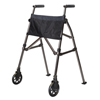 Stander EZ Fold-N-Go Travel Folding Walker - Black Walnut SRX 4300-BW