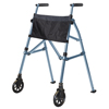 Stander EZ Fold-N-Go Travel Folding Walker - Cobal Blue SRX 4300-CB