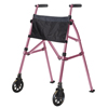 Stander EZ Fold-N-Go Travel Folding Walker - Regal Rose SRX 4300-RR