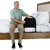 Stander: Stander - Bed Rail Advantage Traveler -Bariatric Bed Handle with Organizer Pouch