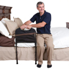 Stander: Stander - Stable Bed Rail - Adjustable Leg Support & Standing Handle