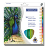 Staedtler Triangular Colored Pencil Set STD 1270C24A6