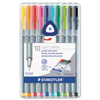 Staedtler Staedtler® triplus® Fineliner Marker STD 334SB10A6