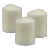 Sterno Wax Petite Lites, 5 Hour Burn, Clear, 48/Carton STE 40300