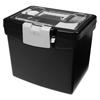 Storex Storex Portable File Box with Large Organizer Lid STX 61504U01C