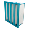 Air and HVAC Filters: Flanders - Super-Flow V Filters, MERV Rating : 15