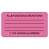 Tabbies Tabbies® Allergy Warning Labels TAB 01730