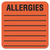 Tabbies Tabbies® Allergy Warning Labels TAB 40560