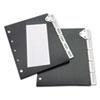 Tarifold Tarifold, Inc. 5-Tab Index for Catalog Rack TFI 50401