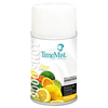 Clean and Green: 9000 Shot Metered Air Fresheners, Citrus, 7.5oz Aerosol, 4/Carton