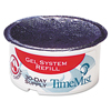 Timemist Gel Cups Refills, 2.75 Diameter, Very Cherry, 12/Carton TMS 1043747