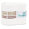 Timemist Continuous Fan Fragrance Dispenser, 4 1/2 x 3 x 3 3/4, White TMS 1044385
