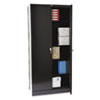 "Tennsco Tennsco 78"" High Deluxe Cabinet TNN 1870BK"