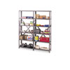 "steel shelving units: Tennsco 87"" High Industrial Steel Shelving"
