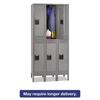 lockers: Tennsco Double Tier Locker