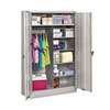 Filing cabinets: Tennsco Assembled Jumbo Combination Storage Cabinet