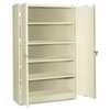 Filing cabinets: Tennsco Assembled Jumbo Steel Storage Cabinet