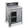 Desks & Workstations: Tennsco Steel Cabinet Shop Desk