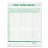 Tops TOPS® Weekly Expense Envelope TOP 1242
